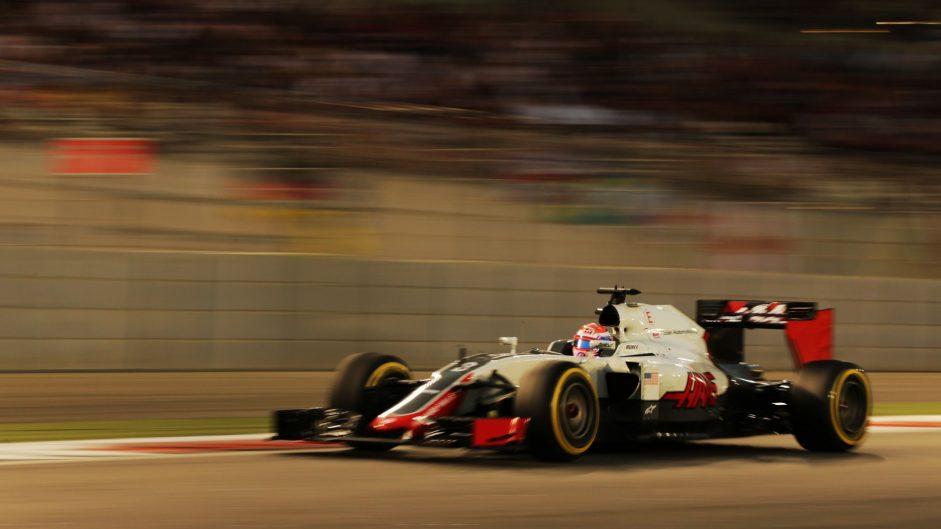 Romain Grosjean, Haas, Yas Marina, 2016
