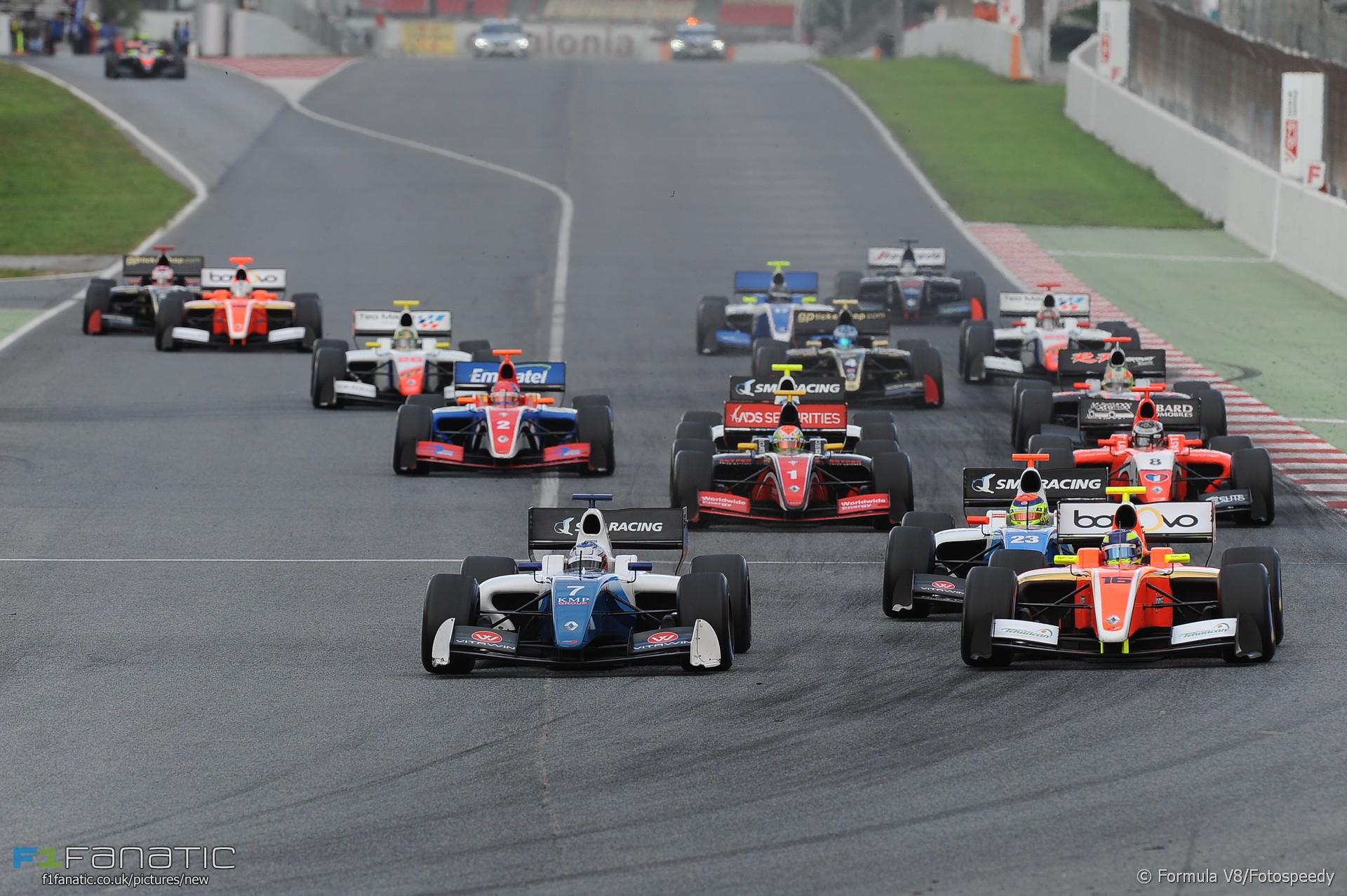 Start, Circuit de Catalunya, Formula V8 3.5, 2016