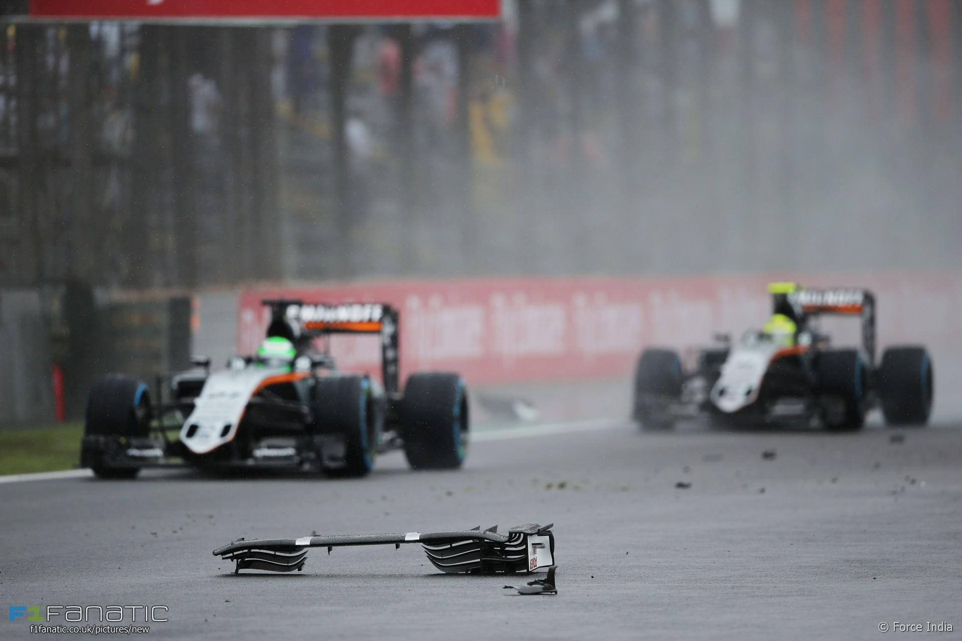 Nico Hulkenberg, Force India, Interlagos, 2016