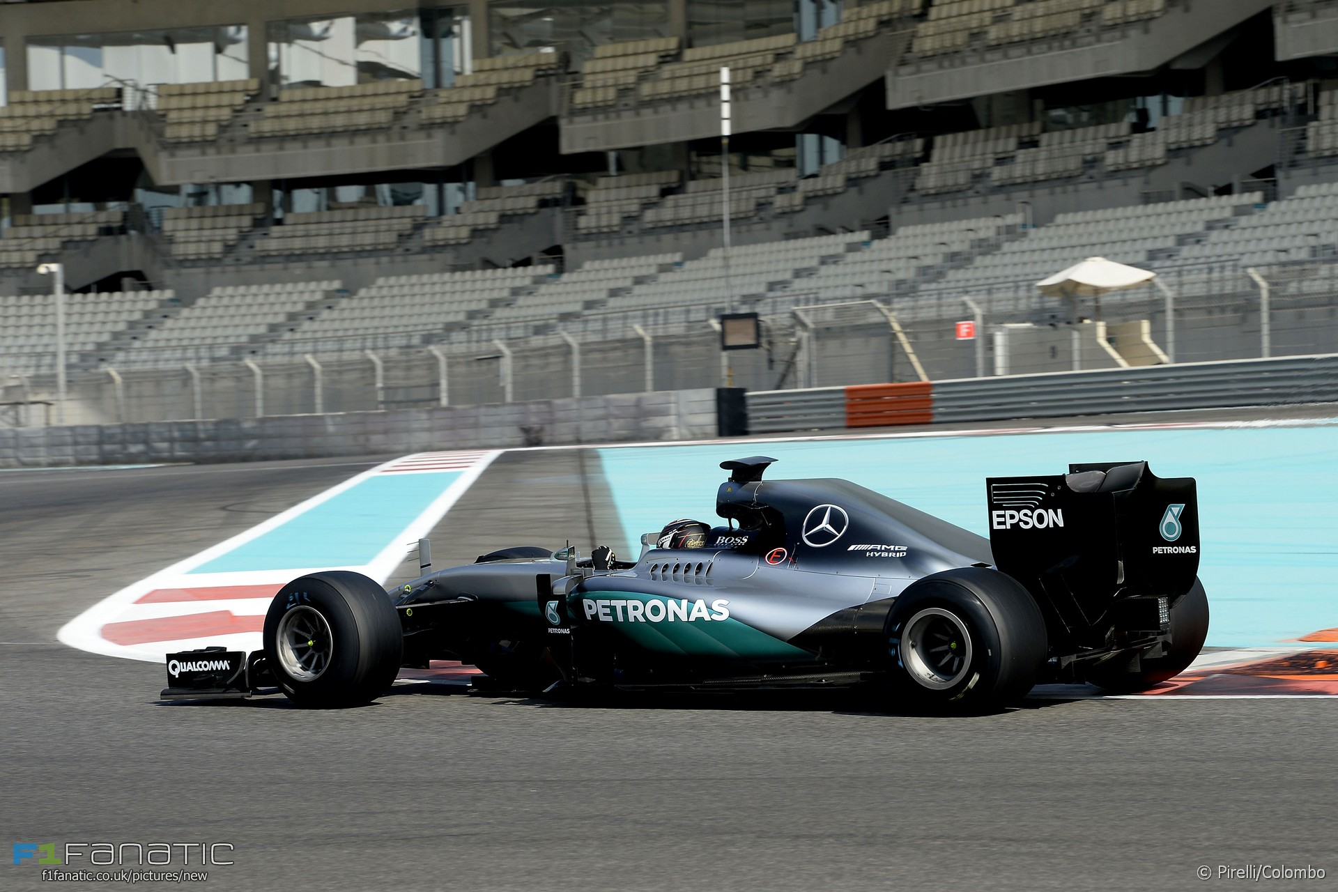 Pascal Wehrlein, Mercedes, Yas Marina, 2016