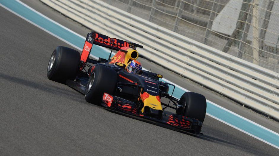 Max Verstappen, Red Bull, Yas Marina, 2016
