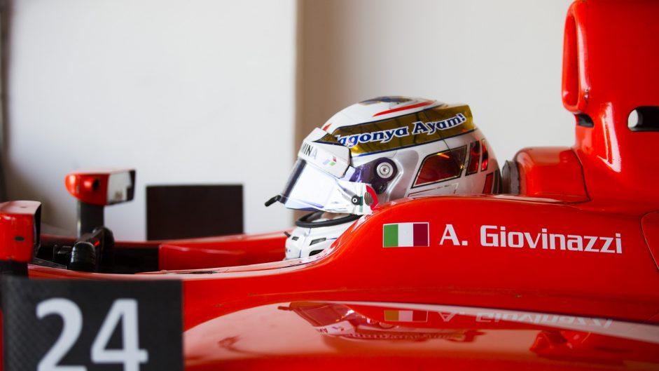 Antonio Giovinazzi, Arden, GP2, 2016