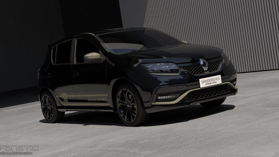 Renault reveals 'Ayrton Senna homage' Sandero RS Grand Prix concept car