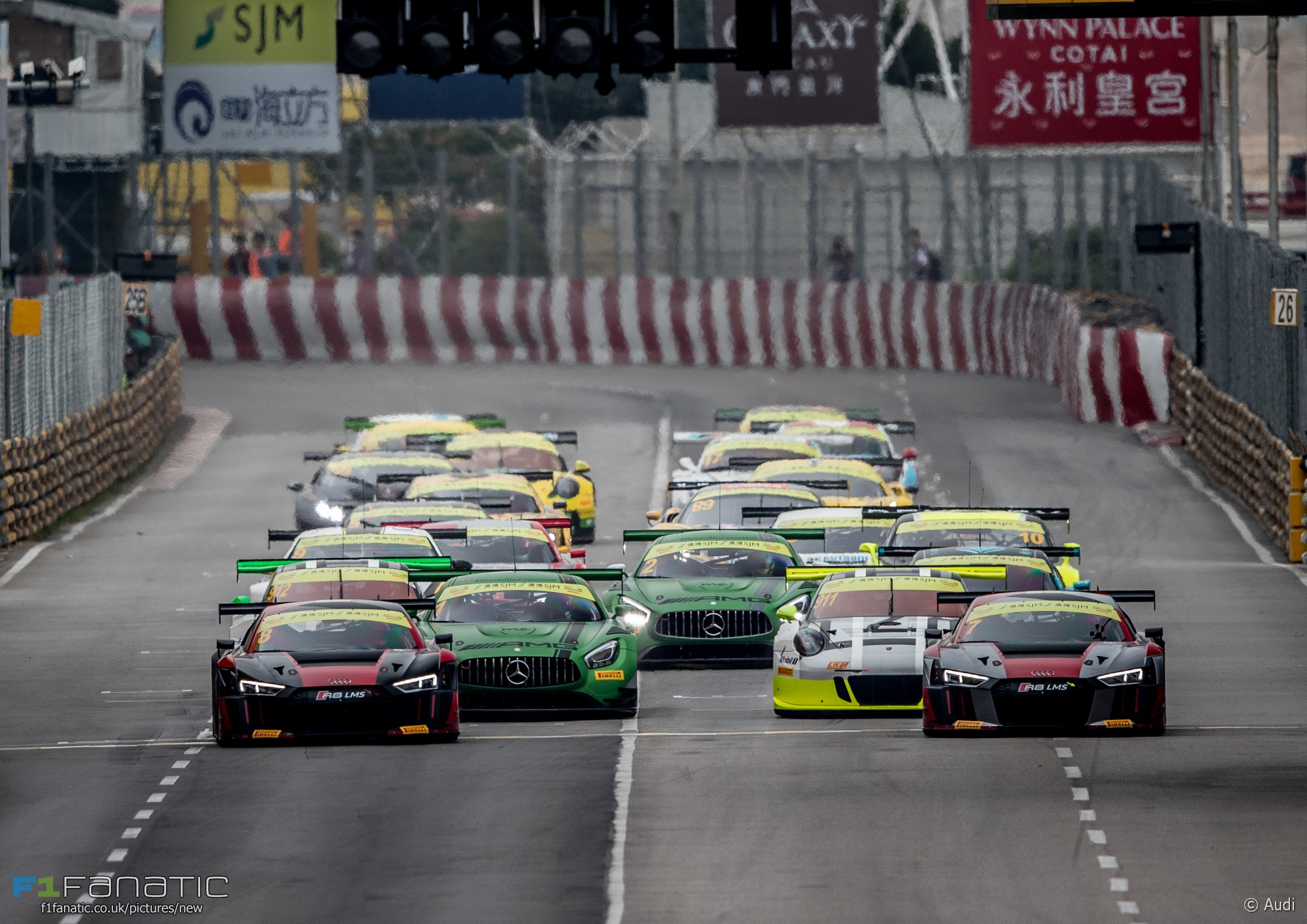 Start, FIA GT World Cup, Macau, 2016