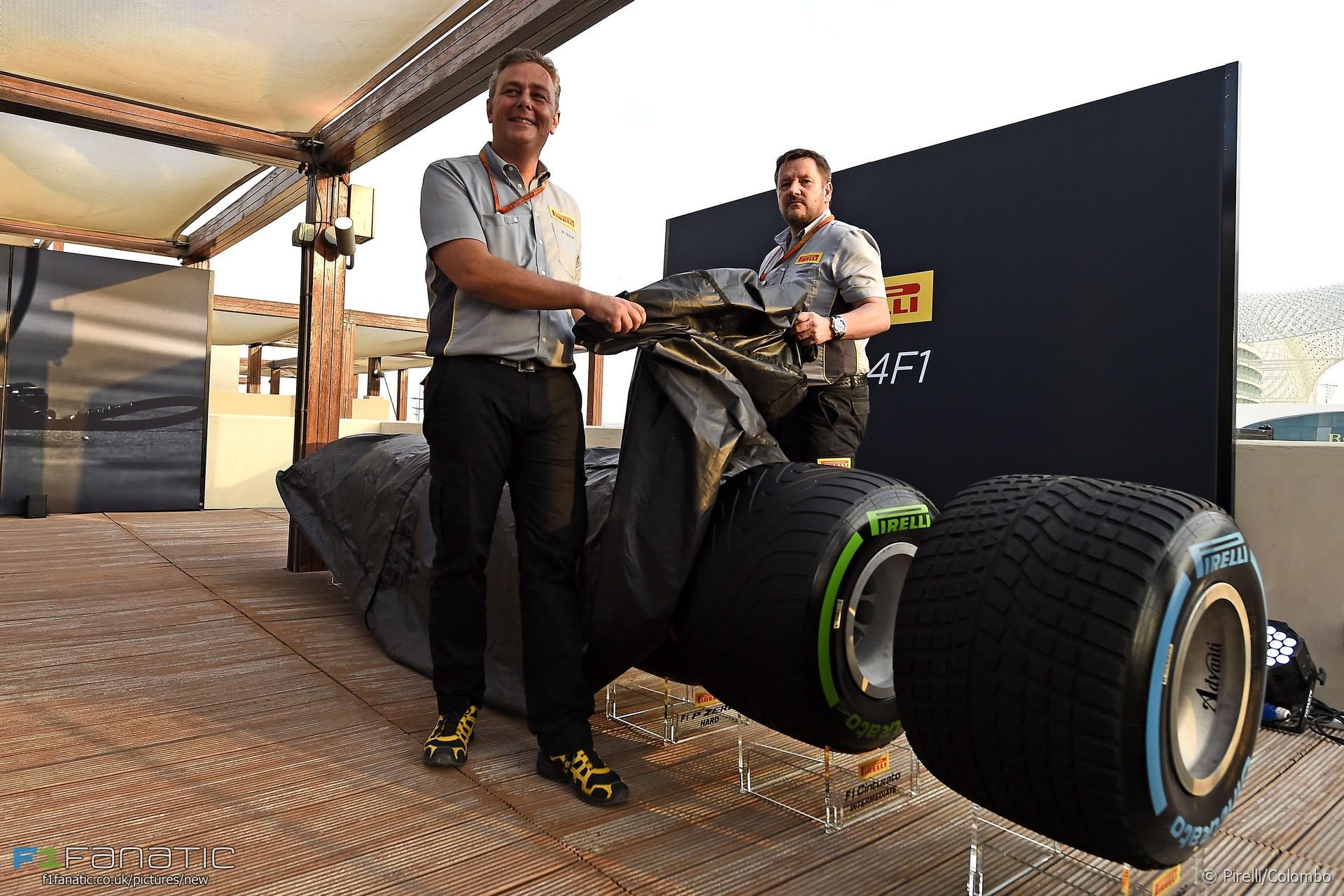 Pirelli reveal 2017 tyres, Yas Marina, 2016