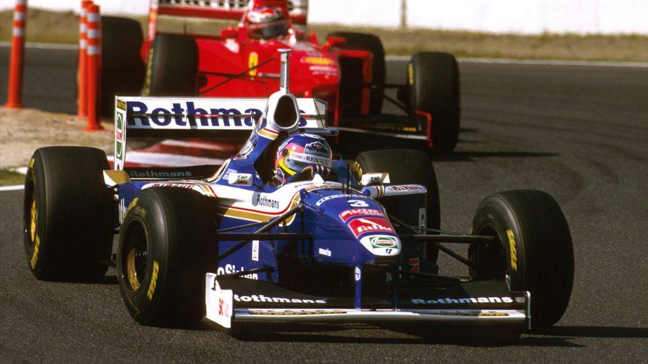 Villeneuve disqualification sets up championship showdown with Schumacher