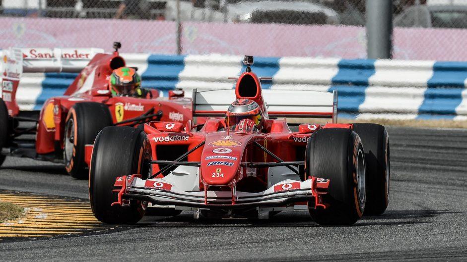 Ferrari F2004, Ferrari World Finale, 2016