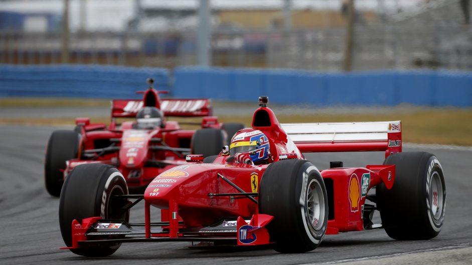 Ferrari F1-2000, Ferrari World Finale, 2016