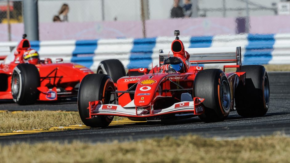Ferrari F2001, Ferrari World Finale, 2016
