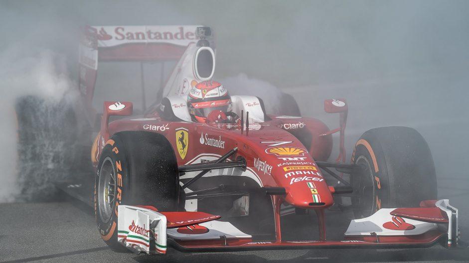 Kimi Raikkonen, Ferrari F60, Ferrari World Finale, 2016