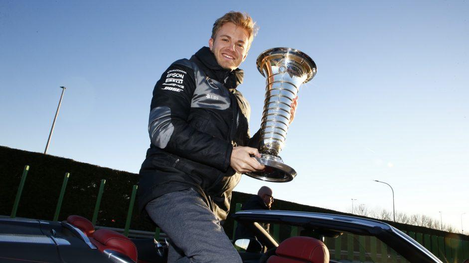 'Half the F1 grid' after Rosberg's drive – Lauda