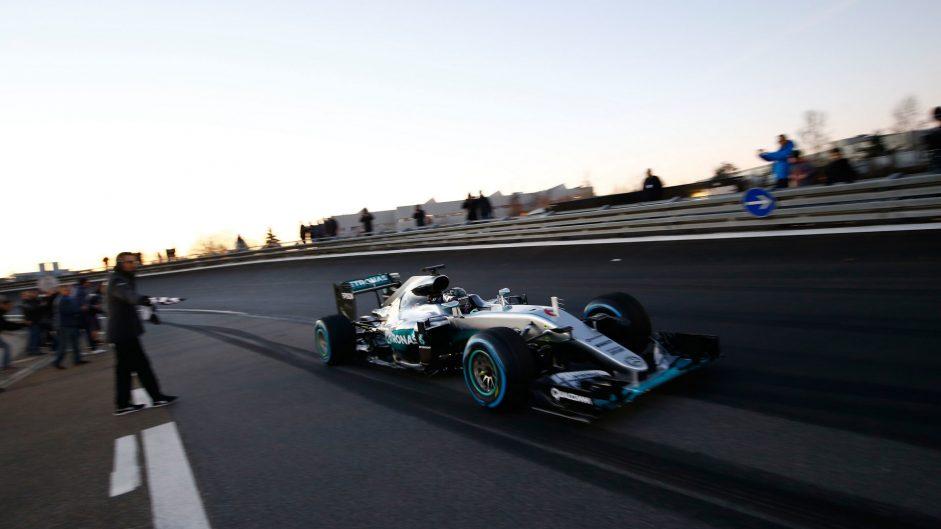 Nico Rosberg, Mercedes, Sindelfingen, 2016