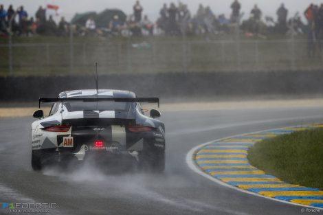 Khaled Al Qubaisi, Patrick Long, David Heinemeier Hansson, Porsche 911 RSR, Le Mans, 2016