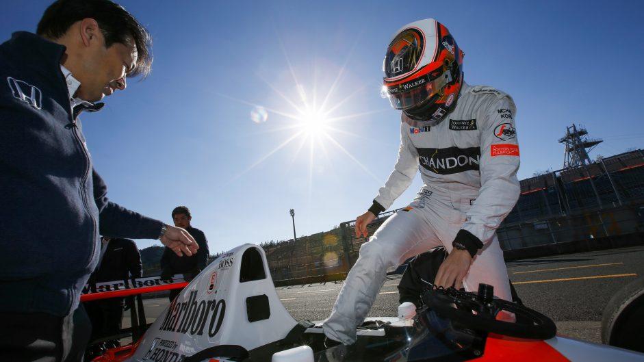 Stoffel Vandoorne, McLaren MP4-6, Honda Thanks Day, Motegi, 2016