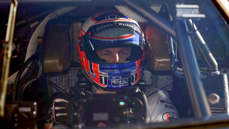 Jenson Button, Honda NSX Concept GT, Honda Thanks Day, Motegi, 2016