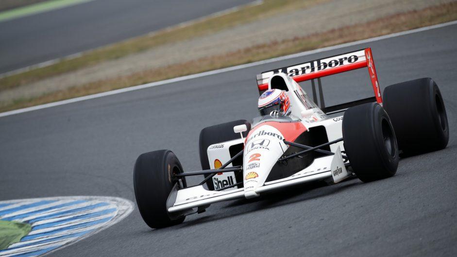 Jenson Button, McLaren MP4-6, Motegi, 2016
