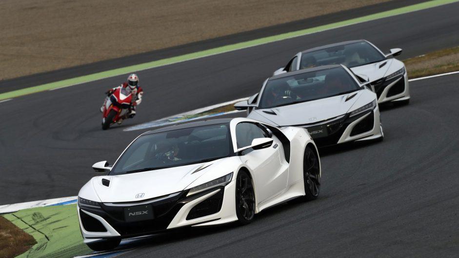 Takuma Sato, Fernando Alonso, Jenson Button, Honda NSX, 2016