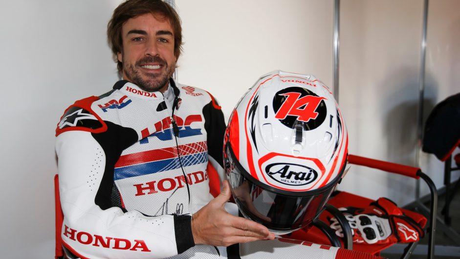 Fernando Alonso, Honda Thanks Day, Motegi, 2016