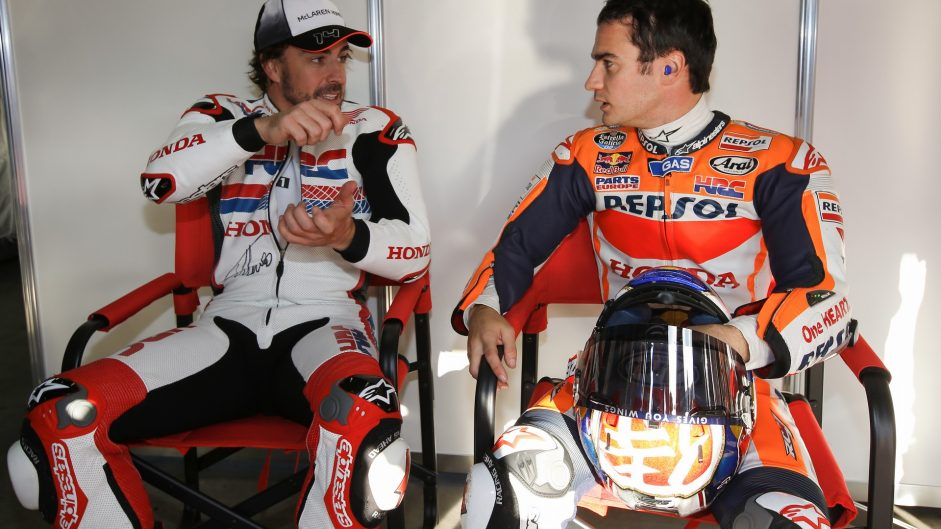 Caption Competition 116: Alonso and Pedrosa