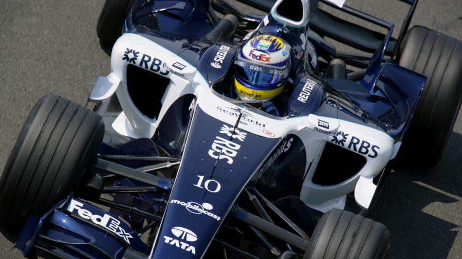 Nico Rosberg, Williams, Magny-Cours, 2006