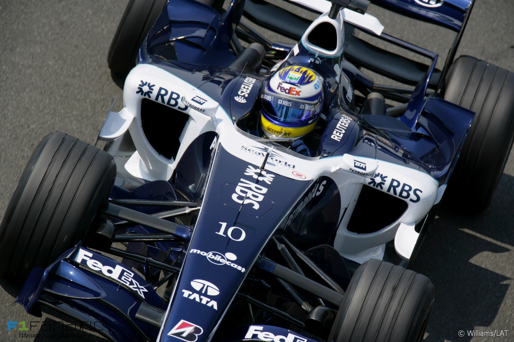 Nico Rosberg, Williams, Magny-Cours, 2006 · RaceFans