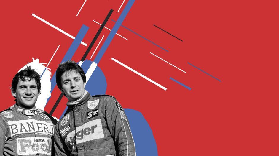 Senna vs Brundle reviewed