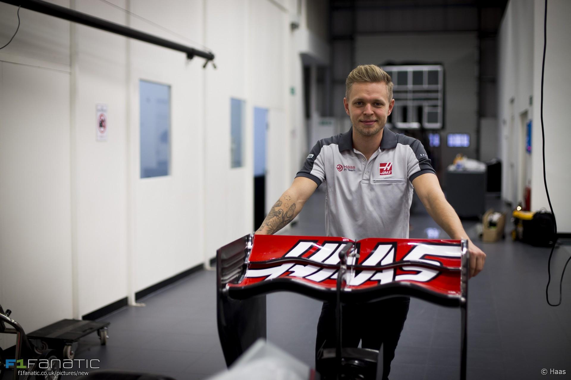Kevin Magnussen, Haas, 2017