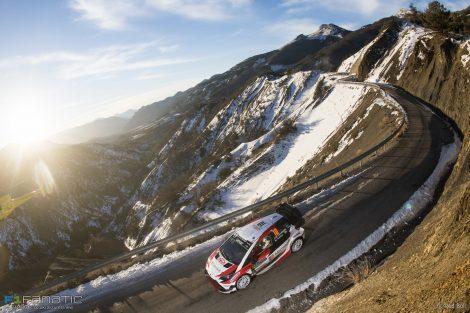 Jari-Matti Latvala, Toyota Yaris, WRC Monte-Carlo Rally, 2017