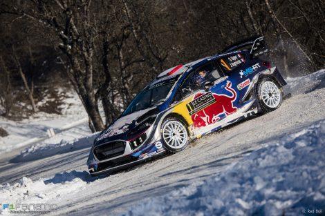 Sebastien Ogier, Ford Fiesta, WRC Monte-Carlo Rally, 2017