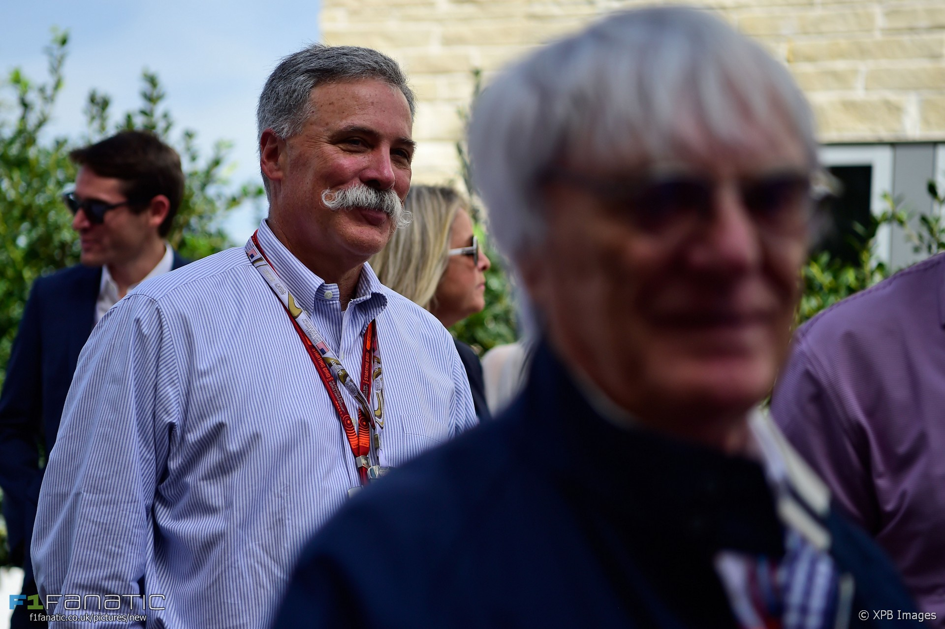 Chase Carey, Bernie Ecclestone, Christian Horner, Circuit of the Americas, 2016