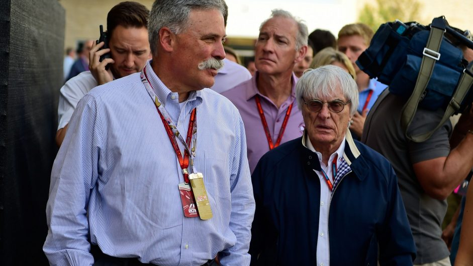 Ecclestone: I wish I had Carey's opportunity