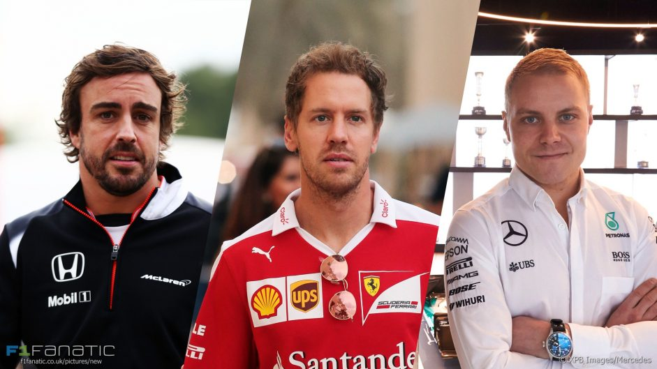 Alonso, Vettel and Bottas: The keys to the 2018 F1 driver market