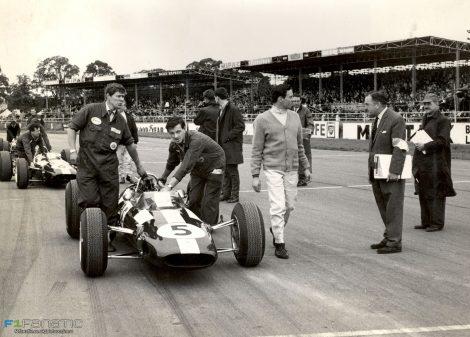 Jim Clark, Lotus 25, Silverstone, 1965