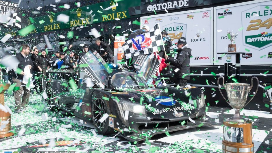 Late collision decides Daytona 24 Hours