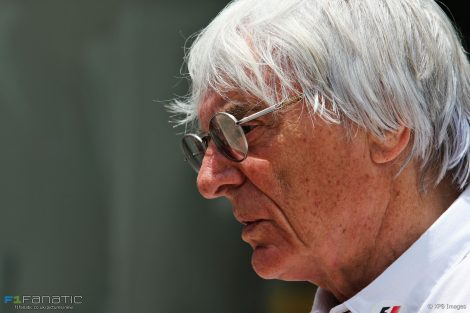 Bernie Ecclestone, Interlagos, 2016