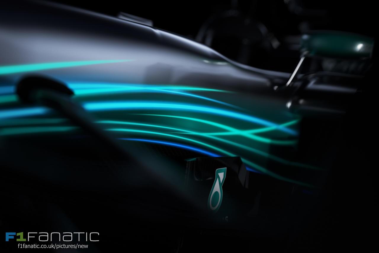 2017 mercedes f1 car wallpaper 10