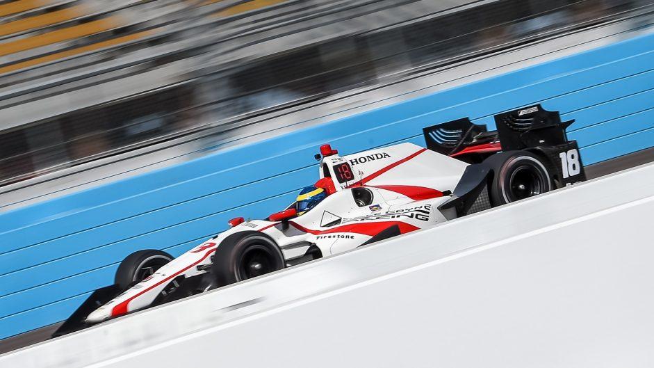 Sebastien Bourdais, Coyne, IndyCar, Phoenix test, 2017