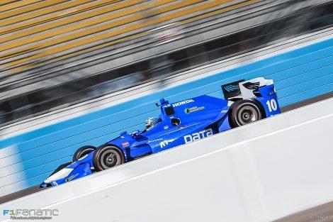 Tony Kanaan, Ganassi, IndyCar, Phoenix test, 2017