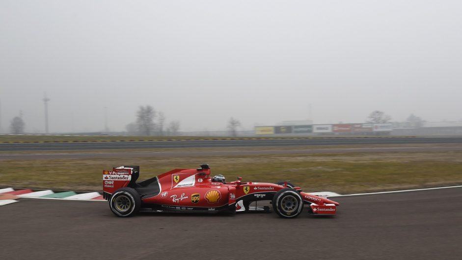 "Giovinazzi makes ""wonderful"" Ferrari test debut"