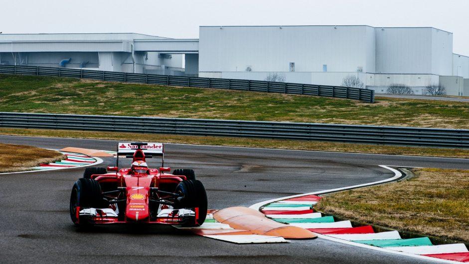 Rain hits Ferrari test with Raikkonen at Fiorano