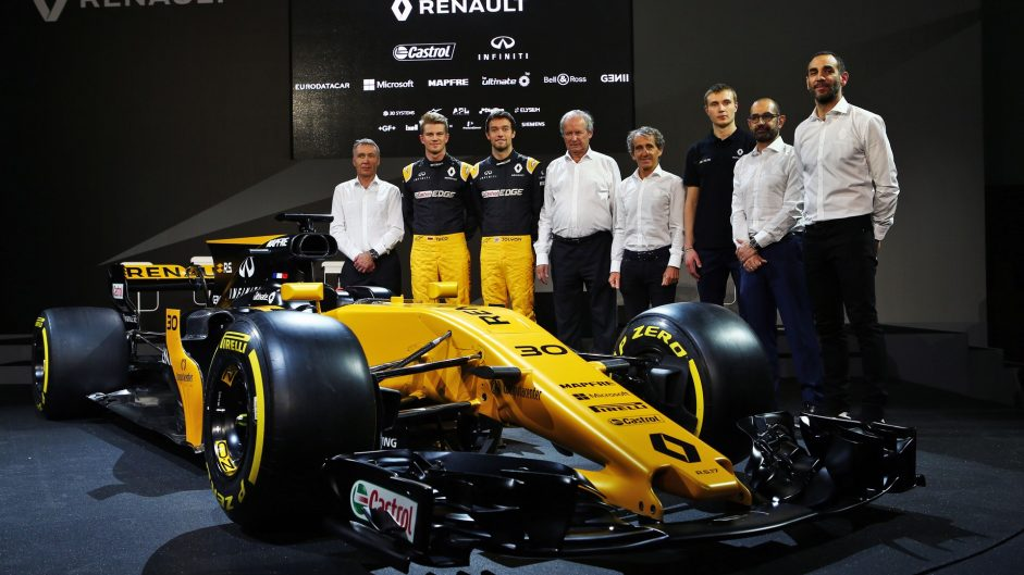 Pictures: Renault's new F1 car for 2017 breaks cover