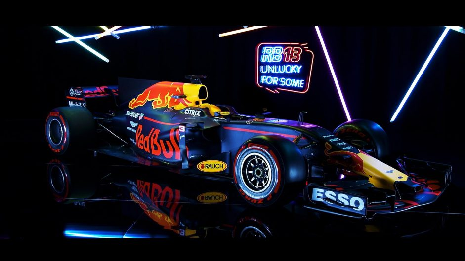 "Pictures: Red Bull reveal their ""prettiest"" F1 car for 2017"