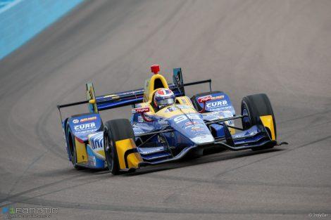 Alexander Rossi, Andretti/Herta, IndyCar, Phoenix test, 2017