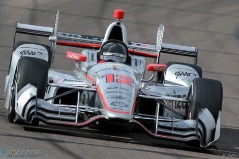 Will Power, Penske, IndyCar, Phoenix test, 2017