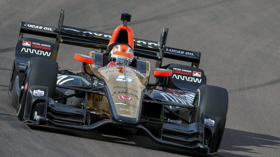 James Hinchcliffe, Schmidt, IndyCar, Phoenix test, 2017