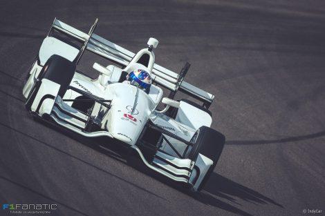 Scott Dixon, Ganassi, IndyCar, Phoenix test, 2017