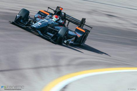 Mikhail Aleshin, Schmidt, IndyCar, Phoenix test, 2017