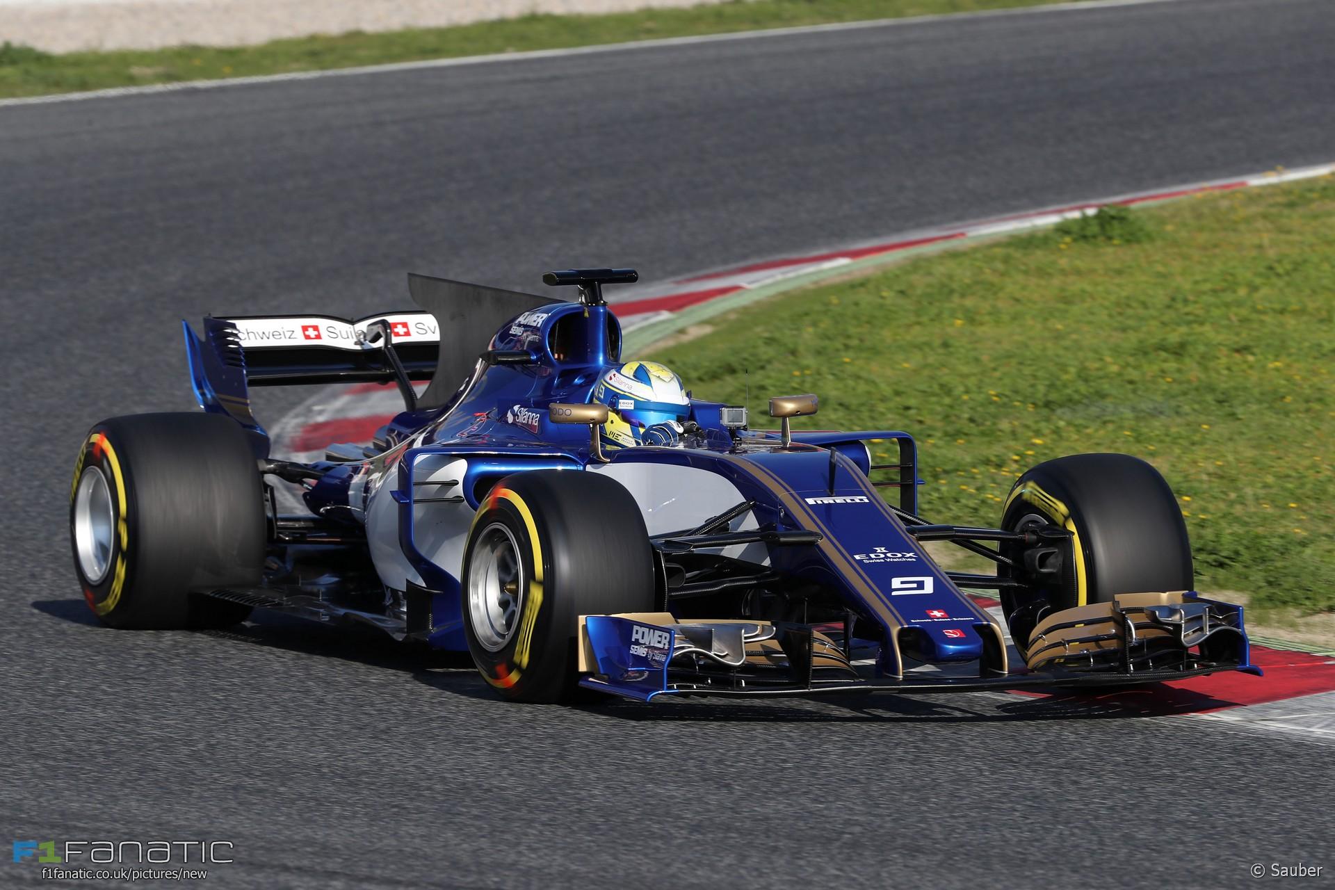 Marcus Ericsson, Sauber C36, Circuit de Catalunya, 2017