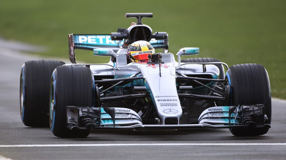 Pictures: World champions Mercedes reveal new 2017 car