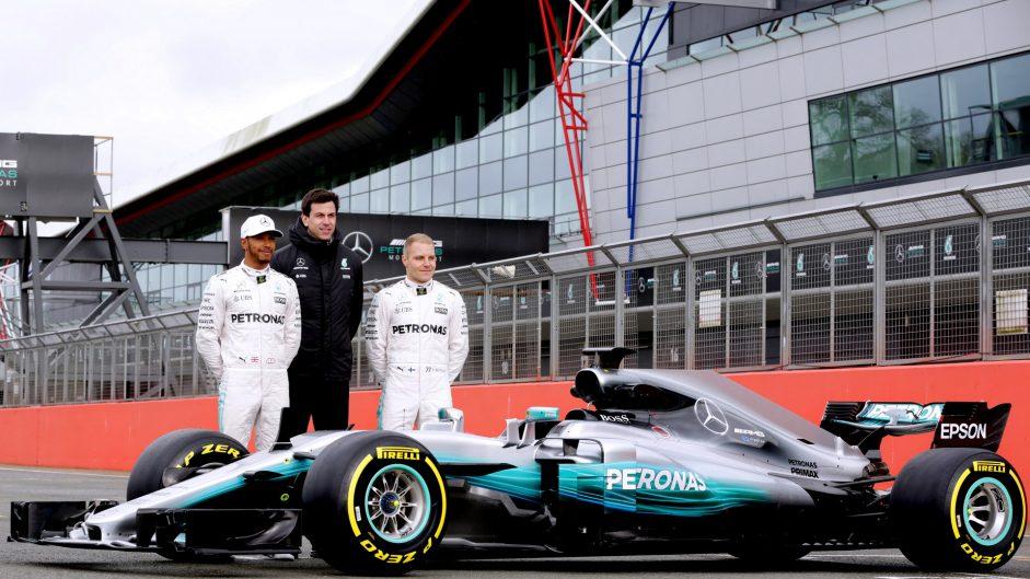 Mercedes announces launch date for 2018 car